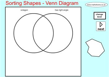 Sorting shapes venn diagram mathsframe maths zone cool sorting shapes venn diagram mathsframe maths zone cool learning games ccuart Images