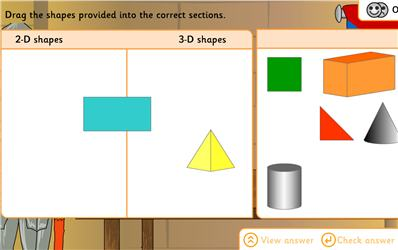 Castle shapes ngfl cymru maths zone cool learning games identify properties of 2 d shapes categorise with venn diagram investigate shape congruence use 3d shapes to investigate castle structure ccuart Choice Image