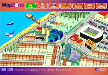 Learn About Maps MapZone Maths Zone Cool Learning Games - Mapzone
