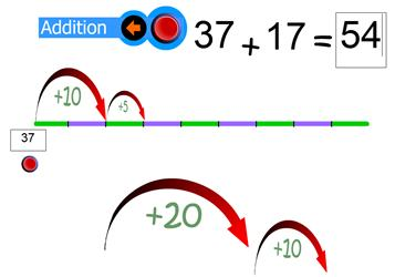 Empty Number Line Ict Games Maths Zone Cool Learning Games