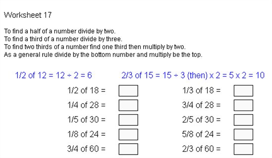 math worksheet : fracts 17  fractions of  anglia campus  maths zone cool  : Fractions Of Amounts Worksheet