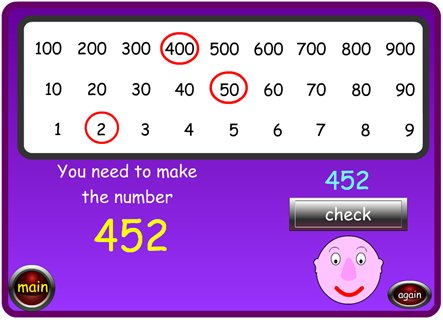 Place Value Chart A Blundred Maths Zone Cool Learning Games