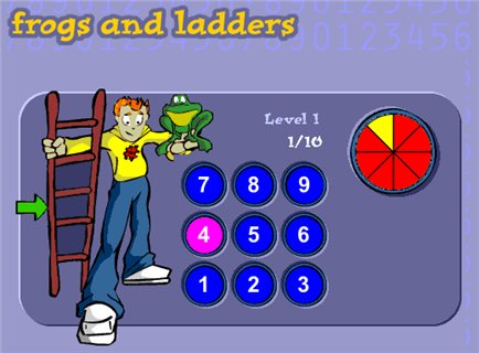 frogs and ladders - Channel 4 - Maths Zone Cool Learning Games