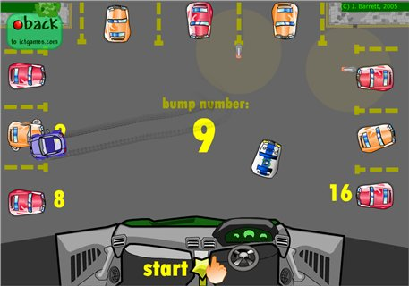 Counting Cars - ICT Games - Maths Zone Cool Learning Games