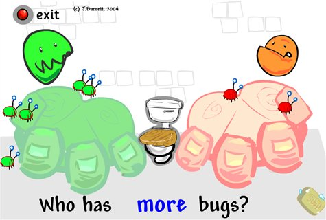 Mucky Monsters - ICT Games - Maths Zone Cool Learning Games